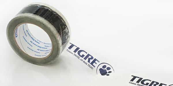 Fita Adesiva Personalizada Cliente: Tigre
